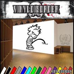 Calvin Decals | Vinyl Decals | Wall Decals | Vinyl Stickers