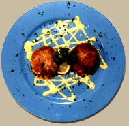 Chef Joe Randall's Savannah Crabcakes recipe