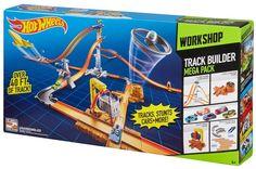 f27d94ee2d557 Hot Wheels Track Builder System Mega Set NEW  Mattel Play Sets