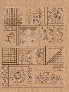 Jan Patek Quilts: Lucky Day 13 - Aneela Hooey & Day 12 - Blackbird Designs