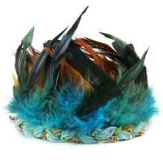 I wonder if I can pull off a feather crown?