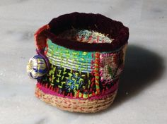 Handmade textile colors ethnic 40€