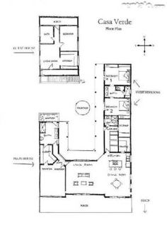 Hacienda home style com it 39 s all about spanish style for Mexican hacienda floor plans