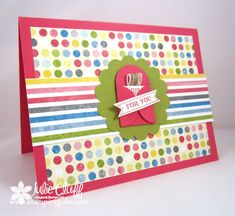 itty bitty birthday envelope card by juliestamps - Cards and Paper Crafts at Splitcoaststampers