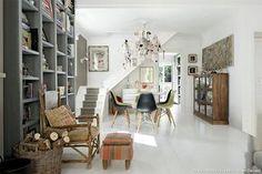 Un dúplex de decoración cálida y luminosa en Lisboa (e ideas para copiar el look!) · A cozy and bright duplex in Lisbon | VINTAGE & CHIC | Bloglovin'
