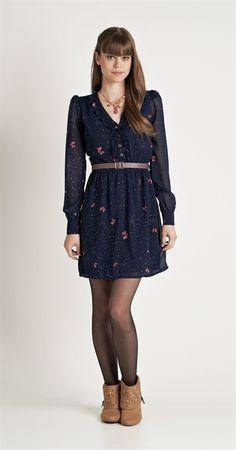 Vestido Borboflor Curto | Lookbook | Antix Store