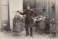 Chinese delivery man, Melbourne 1920s. #twistedhistory #melbournemurdertours  #chinatown