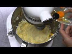 biscotti integrali con planetaria kitchenAid - YouTube