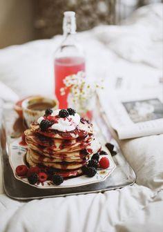 TESSA BARTON: BlackBerry crush pancakes