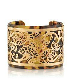 Tory Burch Madura Frete Cuff : Women's Jewelry | Tory Burch