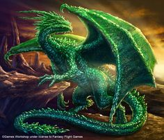 Emerald Dragon by Sumerky on deviantART