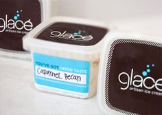 Glace Artisan Ice Cream |  Design Nathaniel Cooper & Brent Anderson | United States