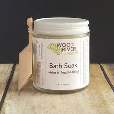 *FINAL SALE (Custom Made) product Made with sea salt, oats, chamomile, and pure essential oils, this aromatherapy soak is sure to help you relax, reduce tension