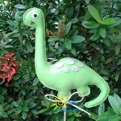 Dinossauro feltro