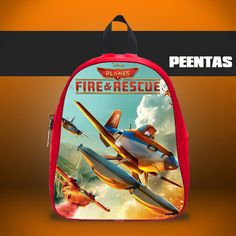 Fire and Rescue Sky -  Design variations School Bag