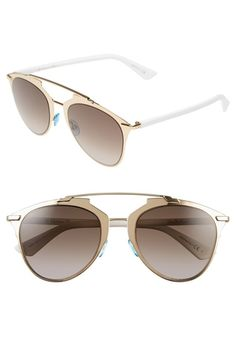 Women's Dior 'Reflected' 52mm Sunglasses - Rose Gold from Nordstrom on Catalog Spree