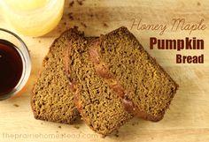 healthy honey maple Pumpkin bread recipe