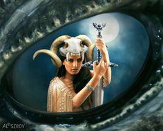 ☆ Dragon s Eye :¦: By Artist Al Serov ☆