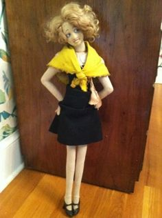 "24-inch-Lenci-Boudoir-Doll - ""Mistinguett"""