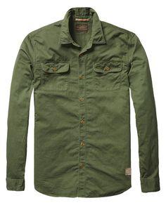 Military Inspired Shirt