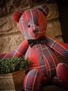 Image result for teddy bears from old shirts