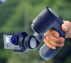 Aetho Aeon Handheld GoPro Stabilizer - One of the myriad reasons why nobody wants to watch your GoPro footage or ours, is the jittery, bouncy, nausea-inducing camera shake that's all but inevitable with these little cameras. The Aeon from Aetho is a GoPro stabilizer that will fix your footage. The Aeon's 3-axis gimbal is mounted to an ergonomic handle that keeps the camera smooth & stable no matter how shaky you are. | werd.com