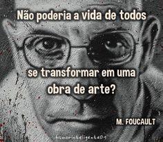 Coisas de Terê→ Michel Foucault