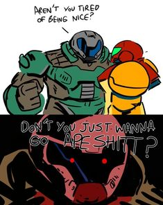 The best crossover Video Game Memes, Video Games Funny, Funny Games, Funny Gaming Memes, Gamer Humor, Stupid Memes, Stupid Funny, Goblin, Doom 2016