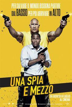 Una spia e mezzo, il film con Dwayne Johnson, Kevin Hart e Amy Ryan, dal 14 luglio al cinema.