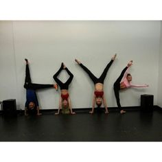 justplaindancing:  L.O.V.E. with Charlize Glass, Jordyn Jones, Malia Tyler and Sophia Lucia!
