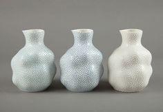 Large sake jugs -- Ikuko Iwamoto, 2012