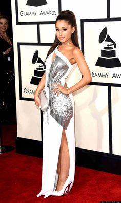 Ariana Grande grammy dress 2015