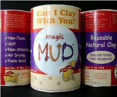 AMACO Magic Mud Air Dry Clay, 3-Pound, Natural by AMACO. Save 11 Off!. $12.95. This non-toxic, non-staining, air-dry natural clay is fun to use and is reusable! Air-dried objects. This non-toxic non-staining air drying natural clay is fun to use and it is reusable! Developed by a classroom teacher Magic Mud promotes endless learning encourages unlimited discovery increases sensory motor development and allows self-expression. Air-dried objects made with Magic Mud can be turned back into mud…