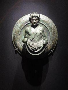 Bronze fountain head featuring a satyr, Pompeii