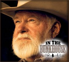 "Red Steagall...In The Bunkhouse Show...I love watching Red with his gentle style of speaking and all his special stories of cowboy life. His poem, ""Ride for the Brand"" is a favorite...His show can be seen on RFD-TV..."