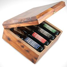 This has gotta be the coolest gift packaging for beer I've seen...