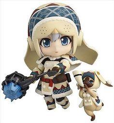 New Nendoroid Monster Hunter 4 Hunter Female Lagombi Edition Japan Import #ebay