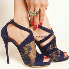 61.60$  Know more - http://ai15t.worlditems.win/all/product.php?id=32802532975 - Elegant Black Lace Cross Strap Sandals Sexy Lace Cut-out Peep Toe Stiletto Heel Dress Sandals Back Zip Fashion Party Shoes