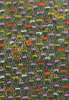 Check out this latest offering of Aboriginal Art by Lucky Morton Kngwarreye / Bush Flowers is the title of the work. Click the image to view this piece and more than 1000 other artworks from more than 100 of Australia's leading Indigenous artists. Cheers and we hope you enjoy
