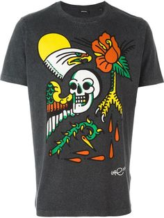 DIESEL Print T-Shirt. #diesel #cloth #t-shirt