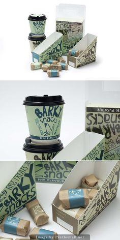 Packaging design for dog treats