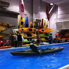 Test driving a new kayak. #paddling #kayaking