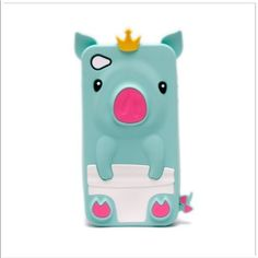Cute Pig Animal Silicone Case for iPhone 4/4S - T ($3.37)