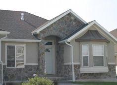 Fieldstone - Grey Weber Split Stone Gallery, Manufactured Stone, Shed, Mountain, Outdoor Structures, Windows, Window, Ramen, Sheds