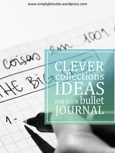 I love lists so collections are my favorite thing in the bullet journal. See in the blog some great ideas.