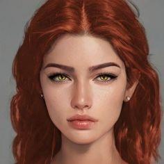 Digital Art Girl, Digital Portrait, Portrait Art, Aesthetic Drawing, Aesthetic Art, Character Portraits, Character Art, Greek Goddess Art, Badass Drawings