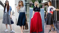 pws na foreseis thn plise fousta Fashion Moda, Midi Skirt, Casual Outfits, Tulle, Skirts, Midi Skirts, Casual Clothes, Tutu, Skirt