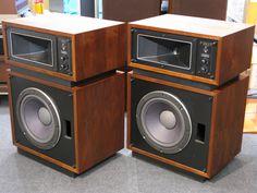 Open Baffle Speakers, Pro Audio Speakers, Audiophile Speakers, Hifi Audio, Stereo Speakers, Altec Lansing, Speaker Box Design, Audio Room, Wearable Technology