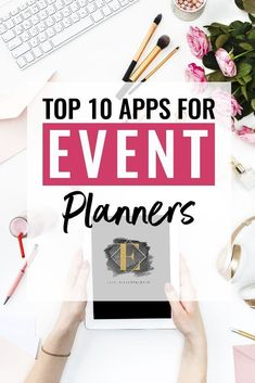 Top Apps for Event Planners As the world changes, so does the way we do business, including the way we plan events. So put down the notepad and pull out your cell phone. Here are the top 10 apps I recommend. Event Planning Tips, Event Planning Business, Business Events, Party Planning, Wedding Planning, Business Tips, Event Rental Business, Event Ideas, Corporate Events