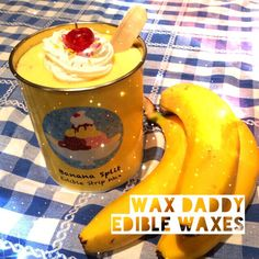New 'edible waxes', launched April 1st... ;)  #waxing #aprilfools